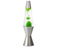 Лава-лампа 36см МТ Зелёная/Прозрачная (Воск)