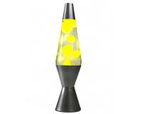 Лава-лампа 36см МТ Жёлтая/Прозрачная (Воск)