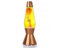 Лава-лампа Mathmos Astro Оранжевая/Жёлтая Copper (Воск)