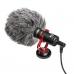 Микрофон кардиоидный Boya BY-MM1 универсальный, 35 Гц - 18 кГц