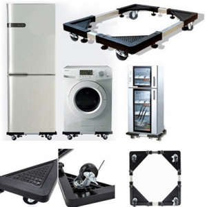 Подставка на колесах для бытовой техники Base for washing machine, 56 х 56 см
