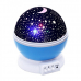 Вращающийся ночник-проектор звездного неба Star Master Dream Rotating Projection Lamp, голубой