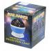 Вращающийся ночник-проектор звездного неба Star Master Dream Rotating Projection Lamp, фиолетовый