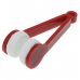 Устройство для чистки стекол очков с кольцом для ключей Essential BANGDI, красный