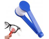 Щёточка из микрофибры для чистки очков Essential BANGDI, синий