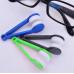 Устройство для чистки стекол очков с кольцом для ключей Essential BANGDI, черный