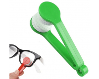 Щёточка из микрофибры для чистки очков Essential BANGDI, зеленый