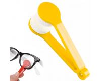 Щёточка из микрофибры для чистки очков Essential BANGDI, желтый