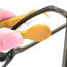 Устройство для чистки стекол очков с кольцом для ключей Essential BANGDI, желтый