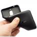 Чехол накладка силиконовый Cherry для смартфона Nokia 8, черный