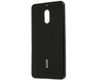 Силиконовый чехол накладка Cherry для Nokia 6, черный