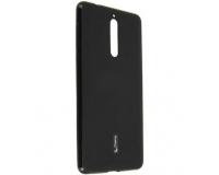 Силиконовый чехол накладка Cherry для Nokia 8, черный