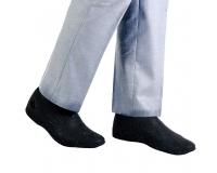 Водонепроницаемые силиконовые бахилы для обуви, размер S (32-36) черные