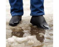 Водонепроницаемые силиконовые бахилы для обуви, размер M (37-41) черные