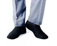 Водонепроницаемые силиконовые бахилы для обуви, размер L (42-45) черные
