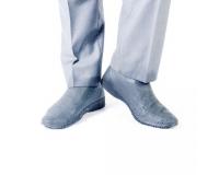 Водонепроницаемые силиконовые бахилы для обуви, размер M (37-41) серые