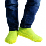 Водонепроницаемые силиконовые бахилы для обуви, размер L (42-45) желтые