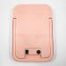 Косметическое настольное зеркало со светодиодной подсветкой и встроенным аккумулятором Cosmetic Mirror H-YT-07, розовое