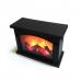 Декоративный светодиодный светильник с имитацией пламени, 28х20х12 см