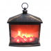Декоративный светодиодный светильник с имитацией пламени, 38х30х17 см