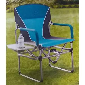 Кресло складное туристическое со столиком Director's Chair 83х50х93см, синий