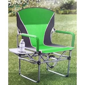 Кресло складное туристическое со столиком Director's Chair 83х50х93см, зеленый