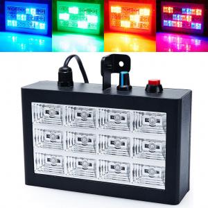 Цветомузыкальная установка Стробоскоп со звуковой активацией LED Room Strobe 12