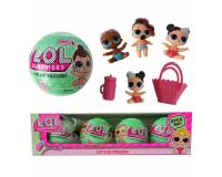 Кукла LOL Surprise 4шт ЛОЛ Сюрприз в шарике