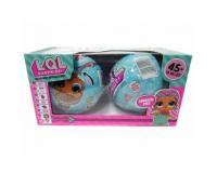 Кукла LOL Surprise 2шт ЛОЛ Сюрприз в шарике 1 серия