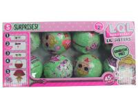 Кукла ЛОЛ Сюрприз в шарике (LOL Surprise) в упаковке 8 шт