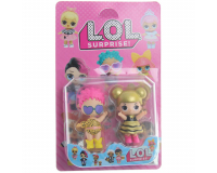 Кукла LOL Surprise (ЛОЛ Сюрприз) набор из 2шт высота 8см