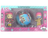 Кукла LOL Surprise 3шт ЛОЛ Сюрприз в шарике 1 серия