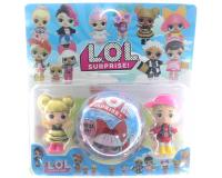 Кукла LOL Surprise 3шт ЛОЛ Сюрприз в шарике