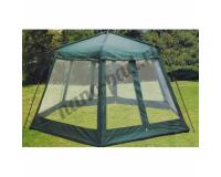 Bizonik Wood Green Беседка шатер, 430x430x230 см