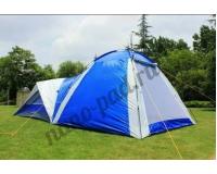 KAIDE KD-1706 Палатка четырехместная кемпинговая + кухня-шатер