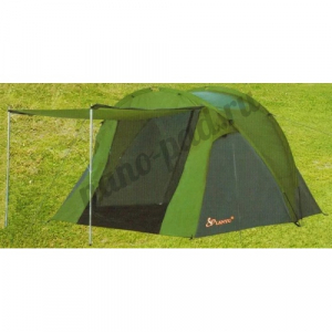 Палатка 3-х местная туристическая LANYU LY-1709 с навесом