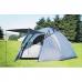 Палатка 4-х местная туристическая с навесом и тамбуром LANYU LY-1901