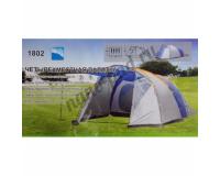 Палатка туристическая 4-х местная с тамбуром LANYU LY-1802