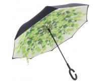 """Зонт наоборот (зонт обратного сложения) """"Канадский клен"""""""