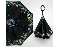 "Зонт наоборот (зонт обратного сложения) ""Весна"""