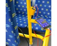 Зарядное устройство с технологией Qualcom 2.0 в автобус