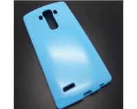 Силиконовый чехол для LG G4 H818P цвет: Синий