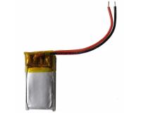 Аккумулятор универсальный 401115P 80mAh 3.7V, 15х11х3 мм