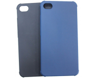 """Резиновый чехол для Meizu Meilan X 5.5"""" дюйма, черный/синий"""