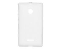 Nokia Lumia 435 Силиконовый чехол для Нокиа 435 (прозрачный)