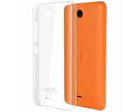 Nokia Lumia 430 Силиконовый чехол для Нокиа 430 (прозрачный)