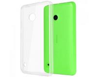Nokia Lumia 530 Силиконовый чехол для Нокиа 530 (прозрачный)
