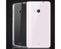 Nokia Lumia 540 Силиконовый чехол для Нокиа 540 (прозрачный)
