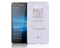 Nokia Lumia 950 Силиконовый чехол для Нокиа 950 (прозрачный)