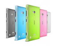 Nokia Lumia 720 Силиконовый чехол для Нокиа 720 (Цветной)